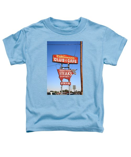 Route 66 - Cattleman's Club And Cafe Toddler T-Shirt