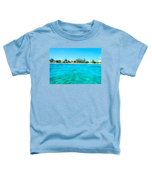 Rum Point Swim Toddler T-Shirt