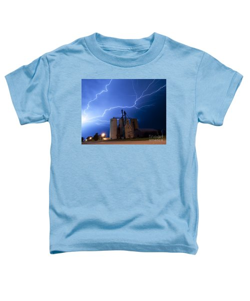 Rural Lightning Storm Toddler T-Shirt