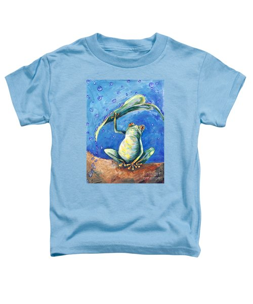 Safe From The Rain Toddler T-Shirt