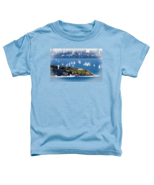 Toddler T-Shirt featuring the photograph Sails Out To Play by Miroslava Jurcik