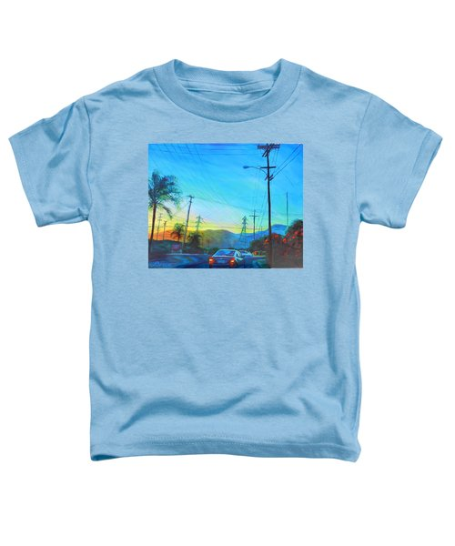San Gabriel Rush Toddler T-Shirt