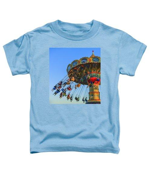 Santa Cruz Seaswing At Sunset 5 Toddler T-Shirt