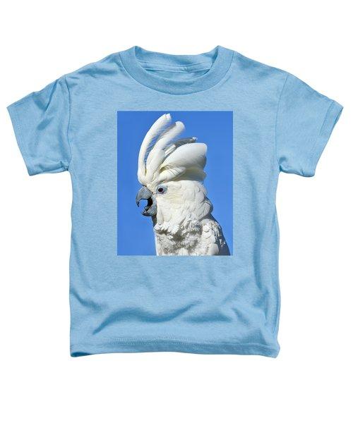 Shady Umbrella Toddler T-Shirt by Tony Beck