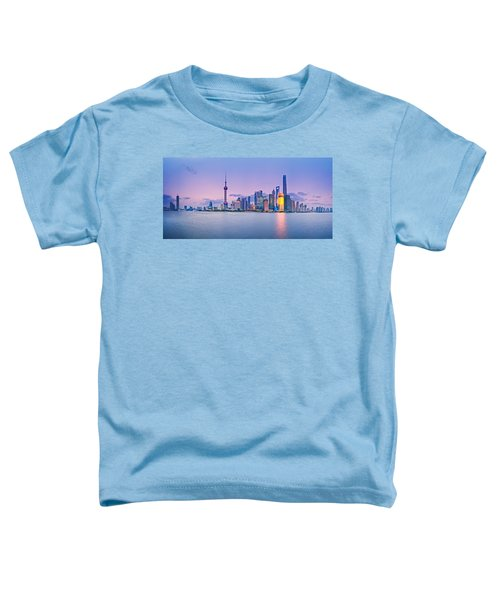 Shanghai Pudong Skyline  Toddler T-Shirt