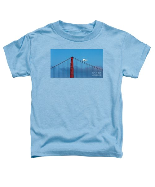 Shuttle Endeavour At The Golden Gate Toddler T-Shirt