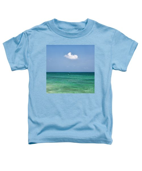 Single Cloud Over The Caribbean Toddler T-Shirt
