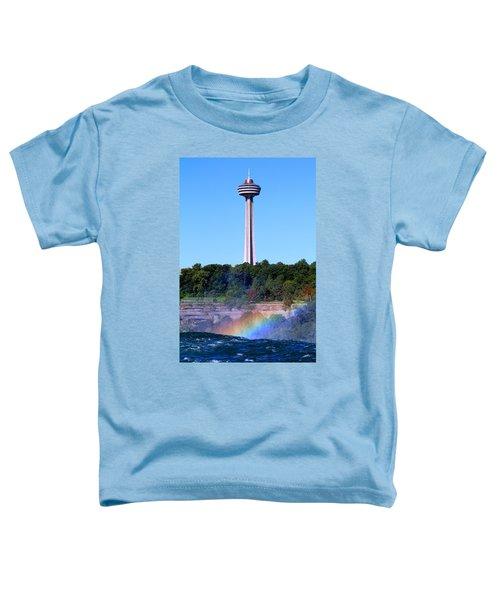 Skylon Tower Niagara Falls Toddler T-Shirt