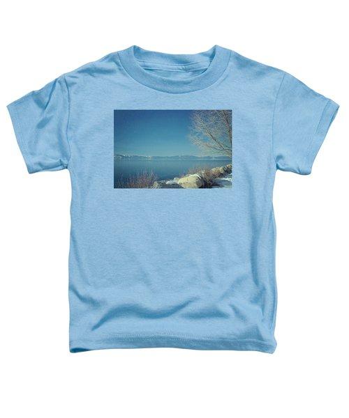 Snowing In Tahoe Toddler T-Shirt