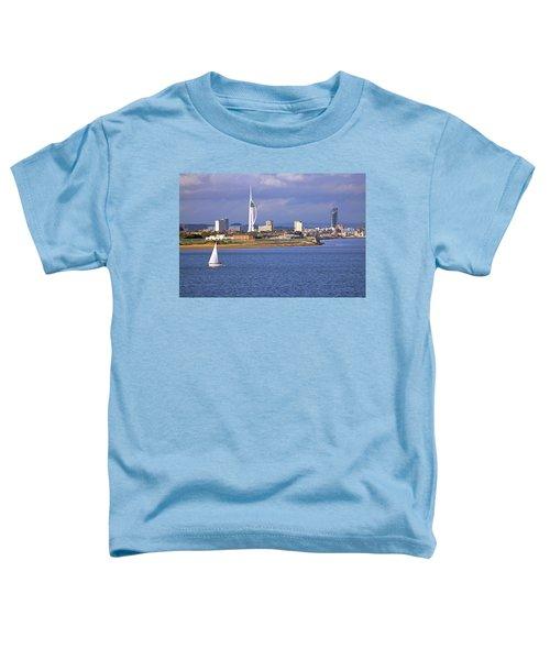 Spinnaker Tower And Gunwharf Quays Toddler T-Shirt