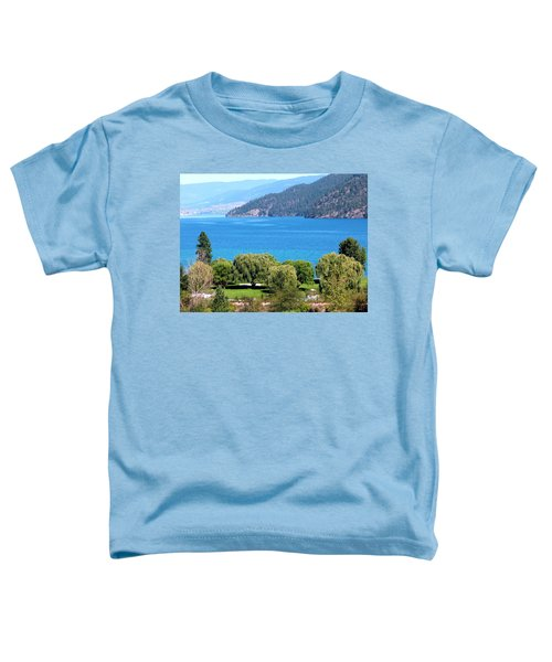 Splendid Kalamalka Lake Toddler T-Shirt