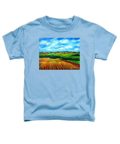 Spring In Prince Edward Island Toddler T-Shirt