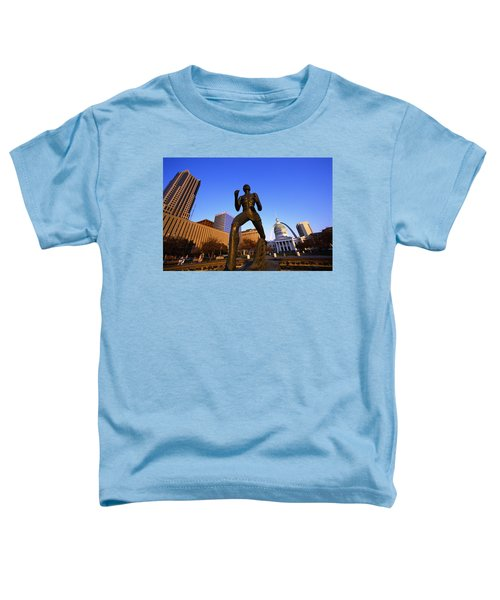 Statue Near Old Courthouse St Louis Mo Toddler T-Shirt