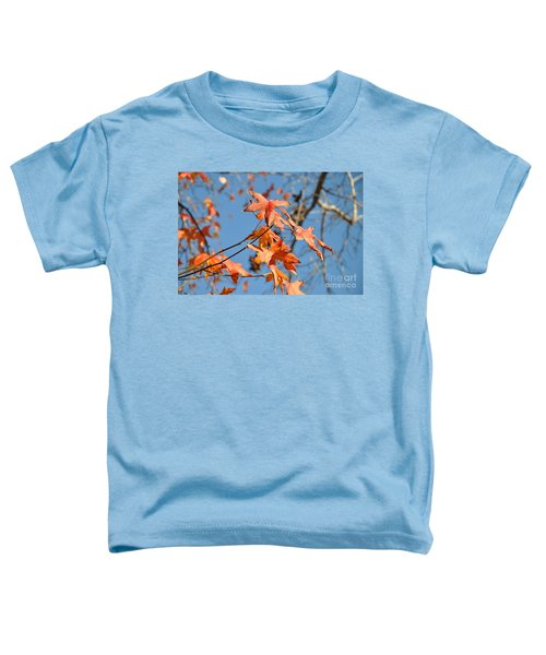 Summer Gold Leaf Toddler T-Shirt