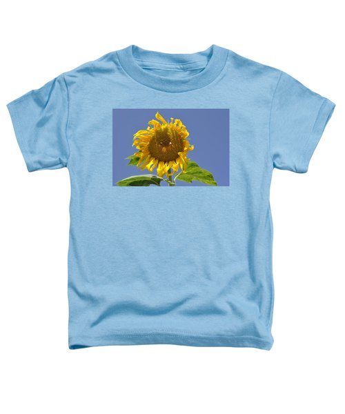 Sunflower At Latrun Toddler T-Shirt