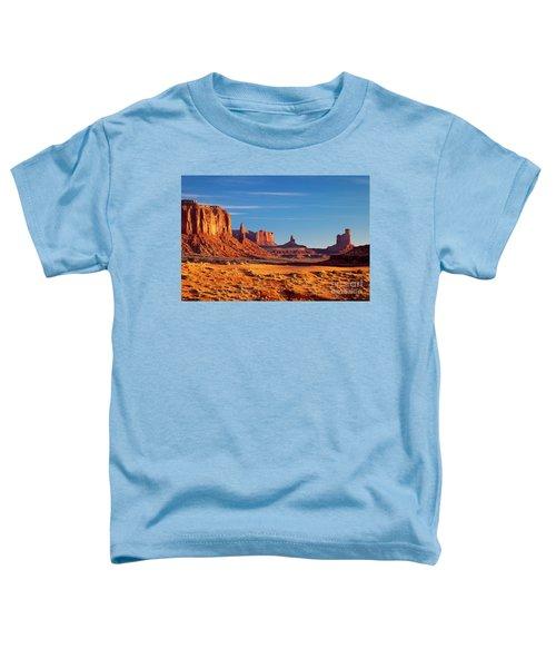Sunrise Over Monument Valley Toddler T-Shirt
