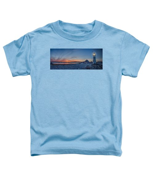 Sunset At Scituate Light Toddler T-Shirt