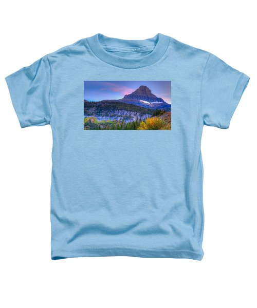 Sunset On Reynolds Mountain Toddler T-Shirt