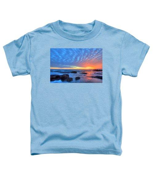 Sunset Reflections Newport Beach Toddler T-Shirt