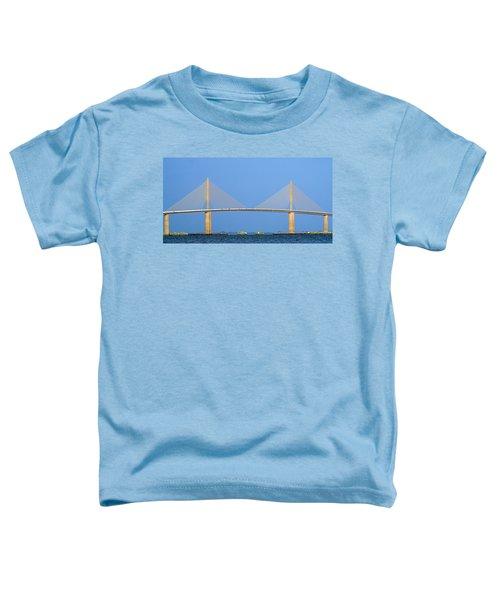 Sunshine Skyway Panorama Toddler T-Shirt