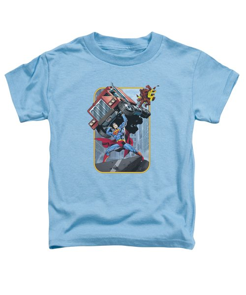 Superman - Pick Up My Truck Toddler T-Shirt