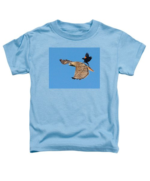 Surfer Bird  Toddler T-Shirt
