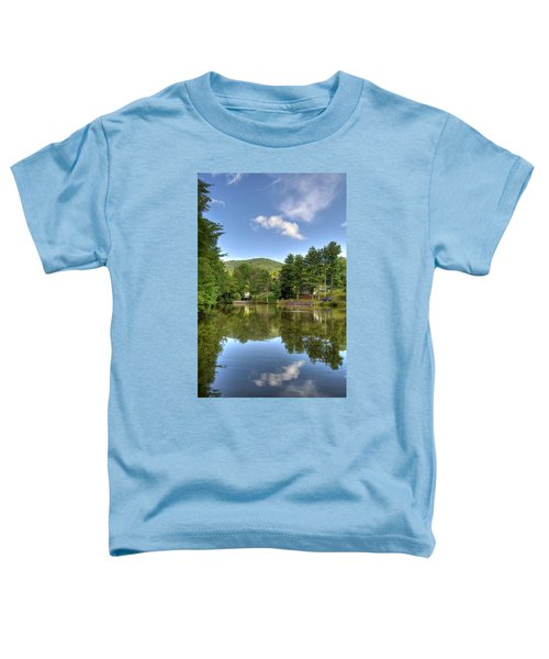 Swiss Mountain Lake Toddler T-Shirt