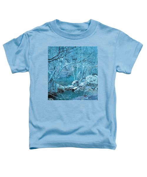 Sycamores And River Toddler T-Shirt