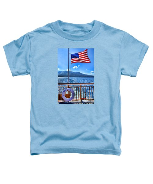 Tahoe Queen Lake Tahoe By Diana Sainz Toddler T-Shirt