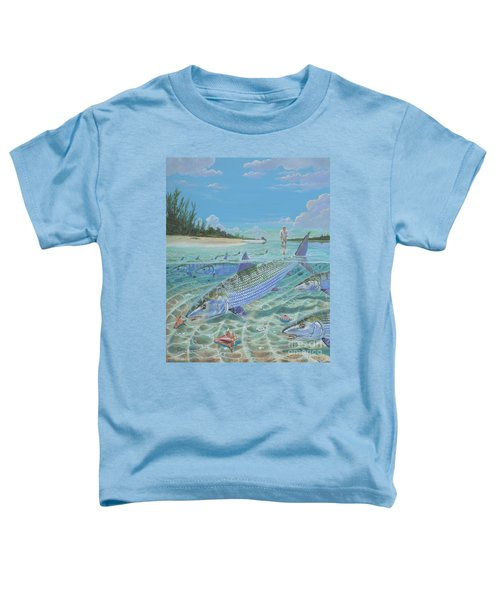 Tailing Bonefish In003 Toddler T-Shirt