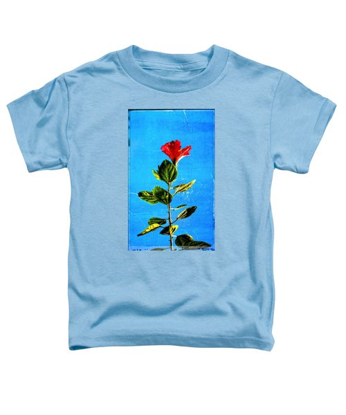 Tall Hibiscus - Flower Art By Sharon Cummings Toddler T-Shirt