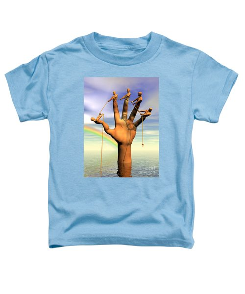 The Hand Is The Sum Of Its Fingers Toddler T-Shirt