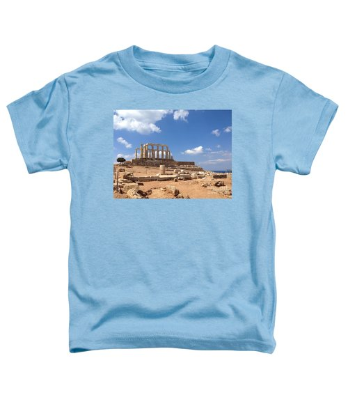 Temple Of Poseidon Toddler T-Shirt