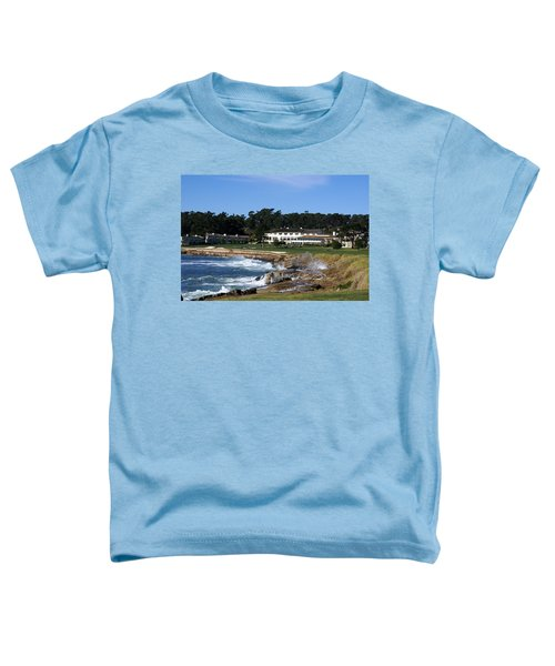 The 18th At Pebble Beach Toddler T-Shirt