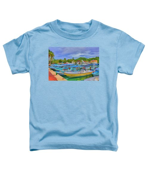 The Boats Of Hautulco Toddler T-Shirt
