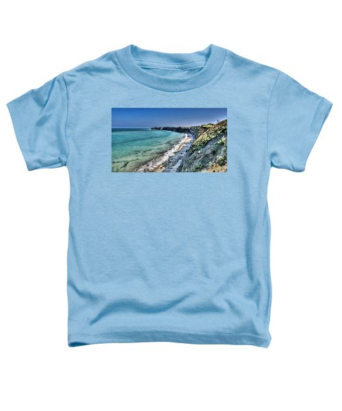 The Cliffs Of Pointe Du Hoc Toddler T-Shirt