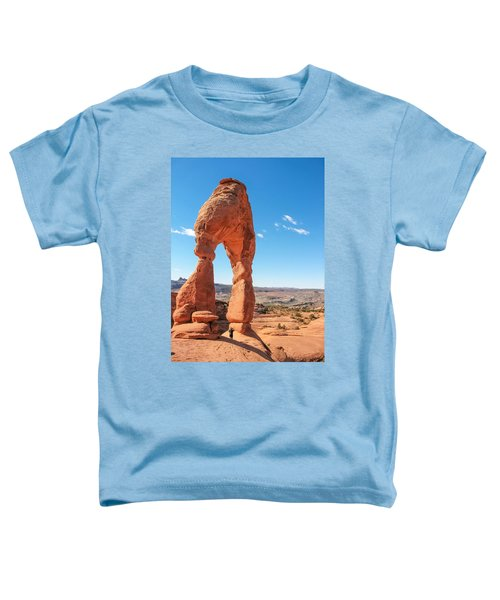 The Delicate Arch Toddler T-Shirt
