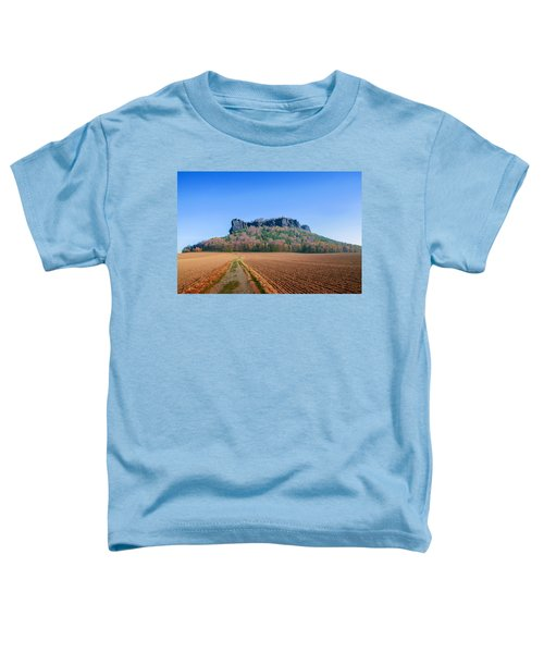 The Lilienstein On An Autumn Morning Toddler T-Shirt