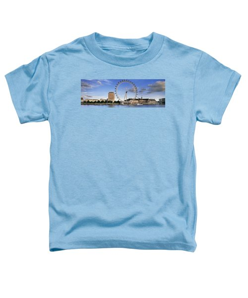 The London Eye Toddler T-Shirt by Rod McLean