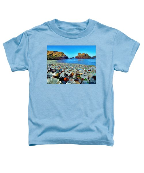 Glass Beach In Cali Toddler T-Shirt