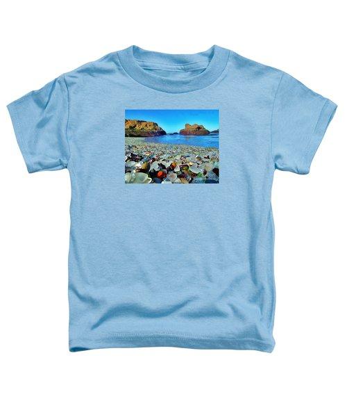 Glass Beach In Cali Toddler T-Shirt