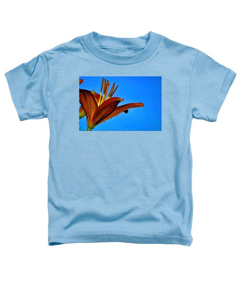 Thirsty Lily In Hdr Art  Toddler T-Shirt