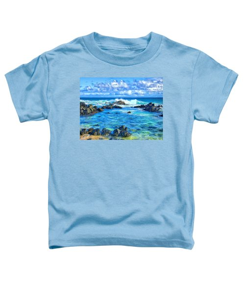 Tide Pool Near Hana Maui Toddler T-Shirt
