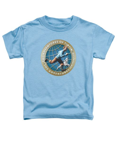 Tintin - Around The Globe Toddler T-Shirt