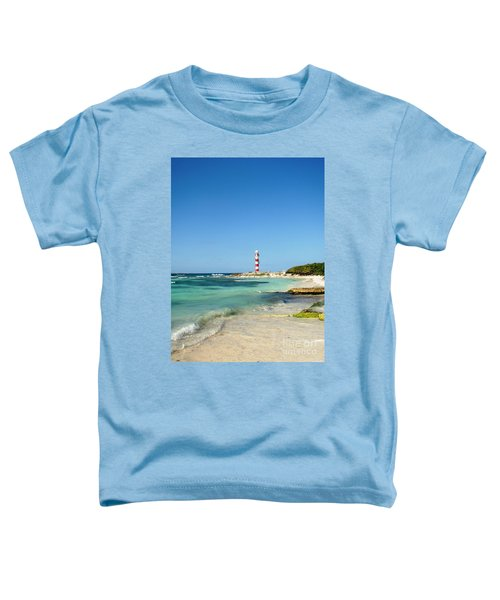 Tropical Seascape With Lighthouse Toddler T-Shirt