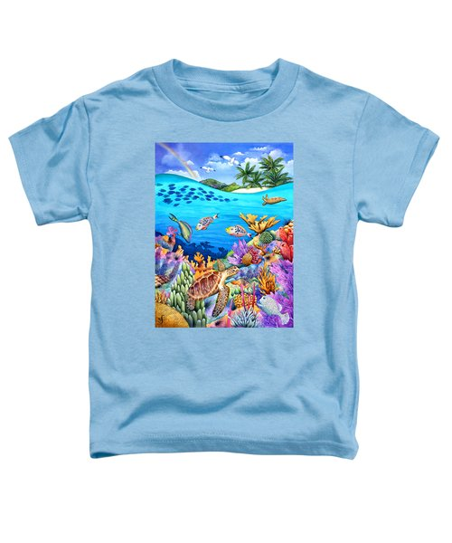 Under The Rainbow Toddler T-Shirt