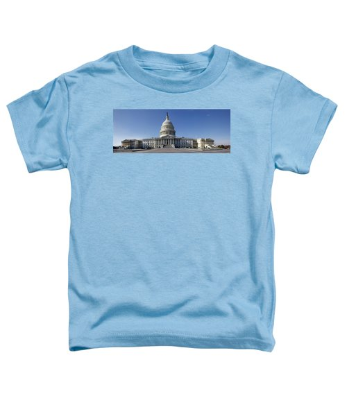 Us Capitol Panorama Toddler T-Shirt