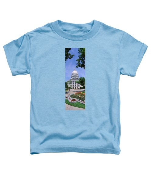 Usa, Wisconsin, Madison, State Capital Toddler T-Shirt