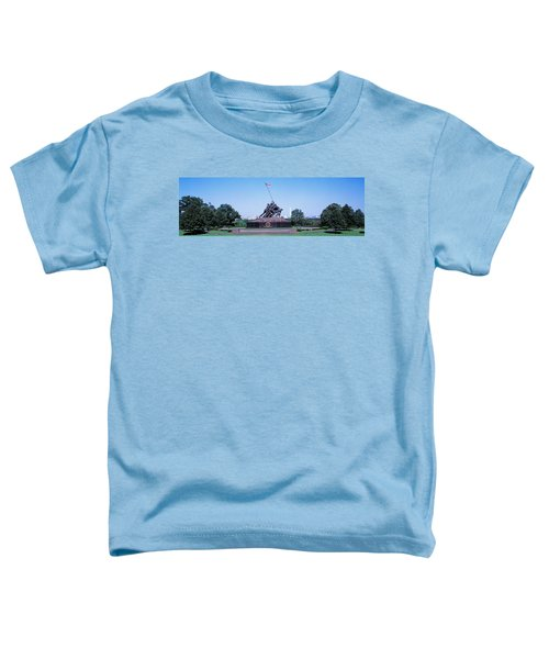 War Memorial With Washington Monument Toddler T-Shirt by Panoramic Images