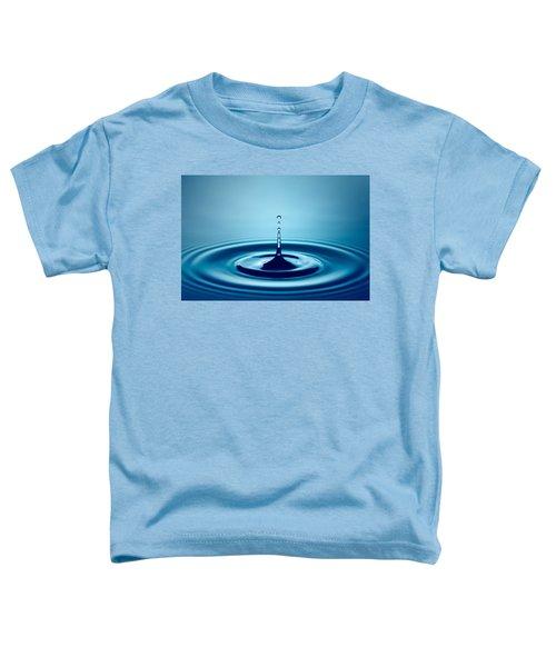 Water Drop Splash Toddler T-Shirt